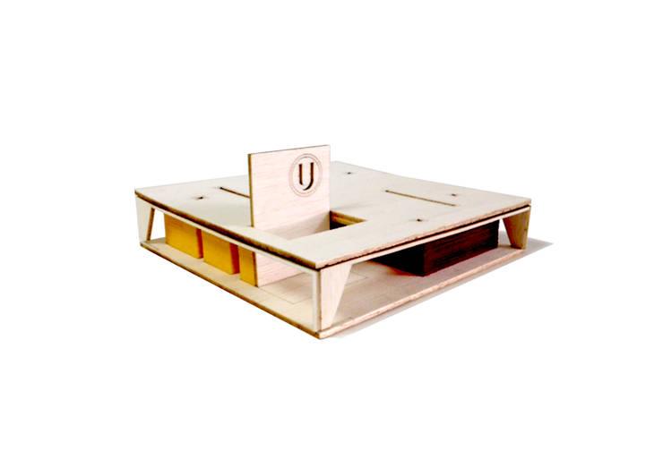 Vista Maqueta:  de estilo  por NIKOLAS BRICEÑO arquitecto
