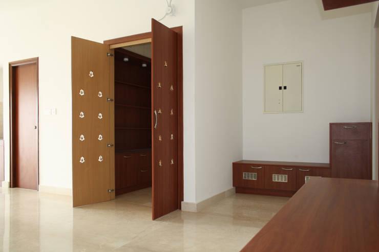 Pooja:  Artwork by Ashpra interiors