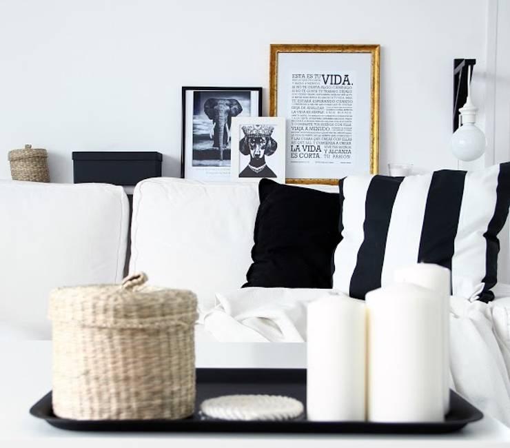 Salas de estar  por ALQUIMIA DECO