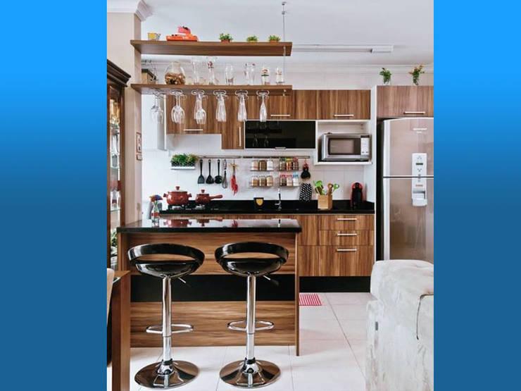 Cocinas de estilo moderno por Magasal interiorismo