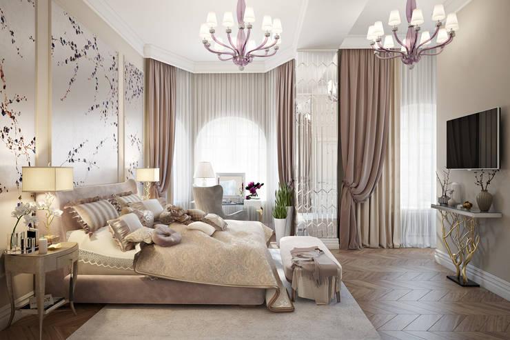 Кашино: Спальни в . Автор – Александра Клямурис, Классический