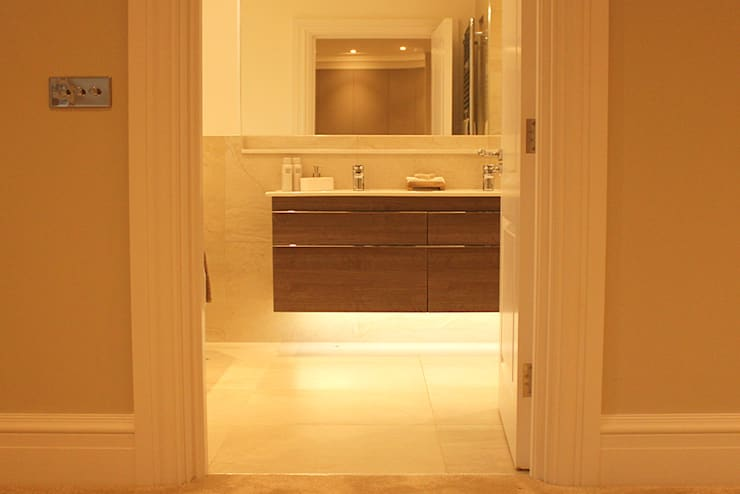 Bathroom by Flairlight Designs Ltd