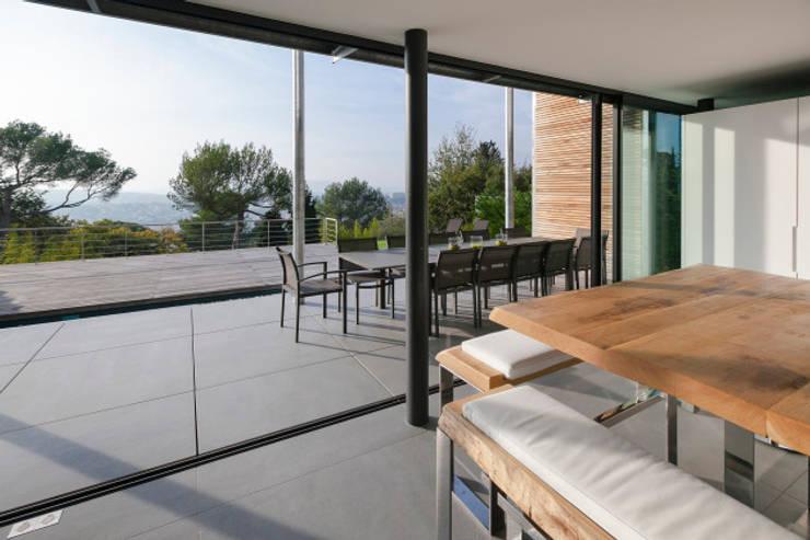 Projekty,  Salon zaprojektowane przez didier becchetti architectes