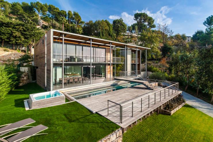 Projekty,  Domy zaprojektowane przez didier becchetti architectes