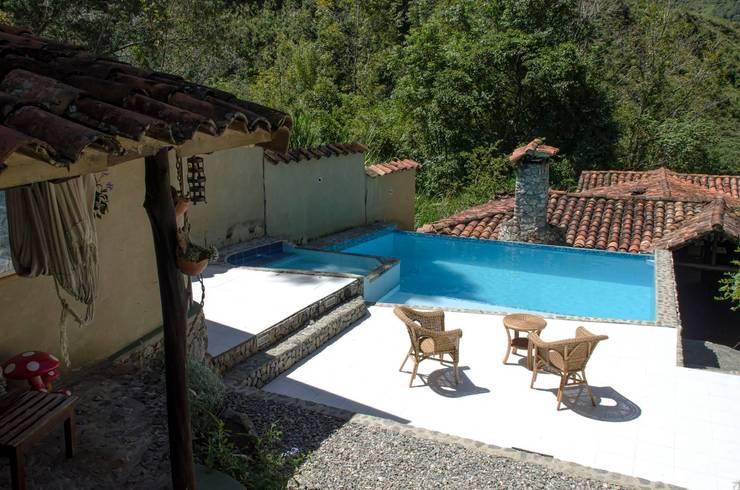 Catalejo Estudio: Terrazas de estilo  por Loft estudio C.A.