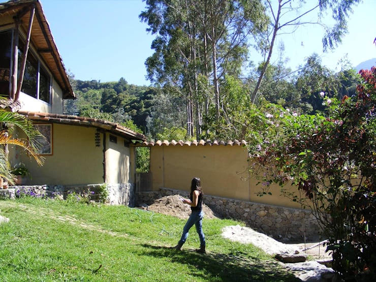 Terrasse de style  par Loft estudio C.A.