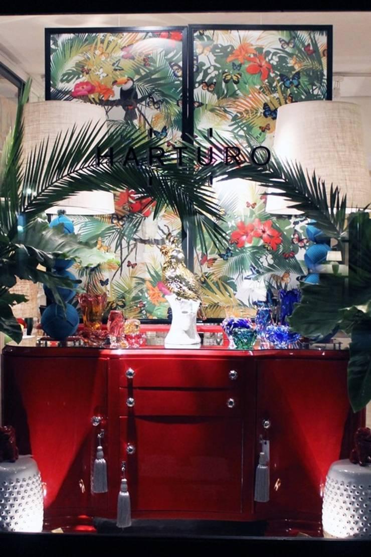 Looks del mes – Parte VII: Livings de estilo  por Harturo Deco,Moderno