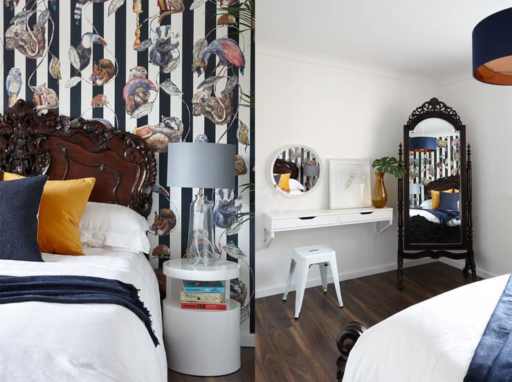 Virginia Water Apartment - Surrey Dormitorios de estilo moderno de Bhavin Taylor Design Moderno