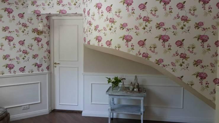 Remodelación Quincho y hall de entrada:  de estilo  por Arquitecta y decoradora Sabina Casado