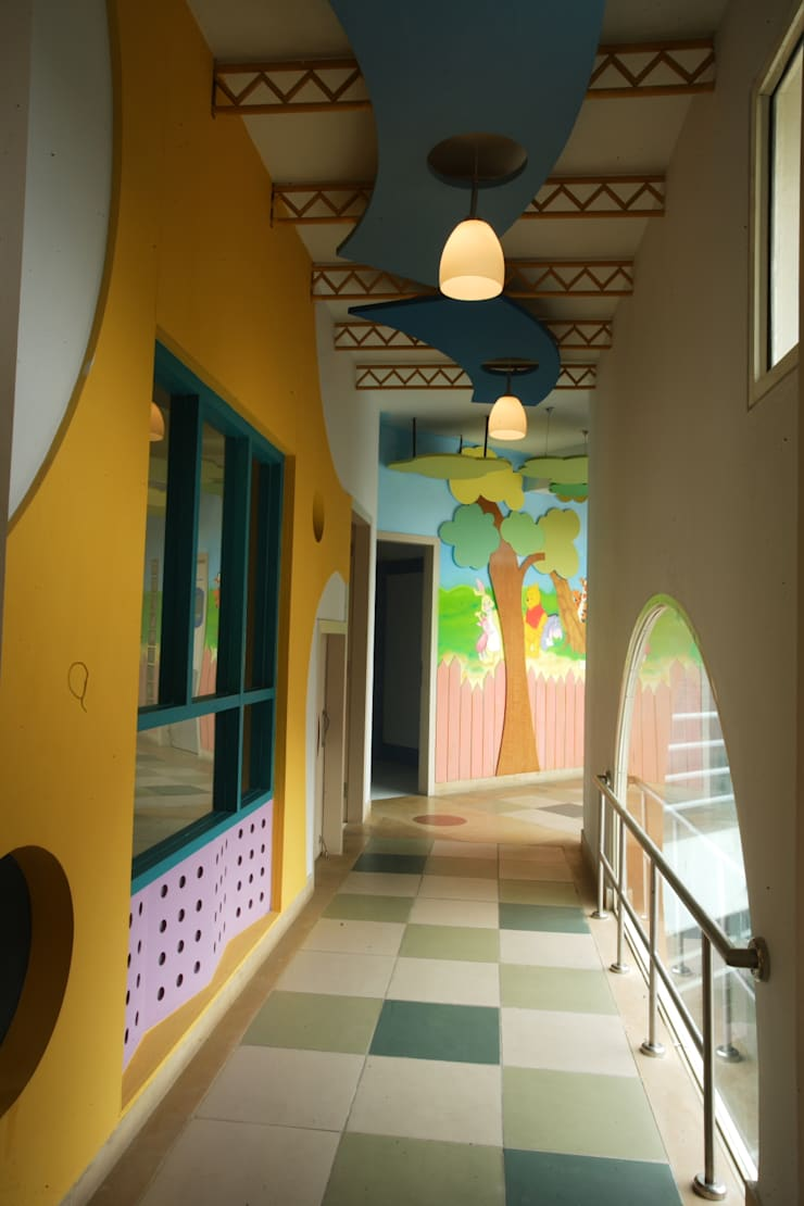 Kindergarten School:  Schools by eSpaces Architects