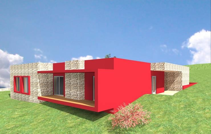 Casa Lameirinha - Santo Tirso:   por M+ARQ | Arquitectura
