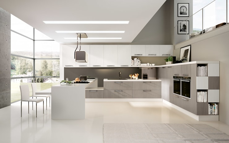 modern Kitchen by DIEMME CUCINE S.r.l.