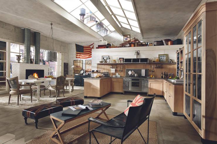 Projekty,  Kuchnia zaprojektowane przez MARCHI CUCINE