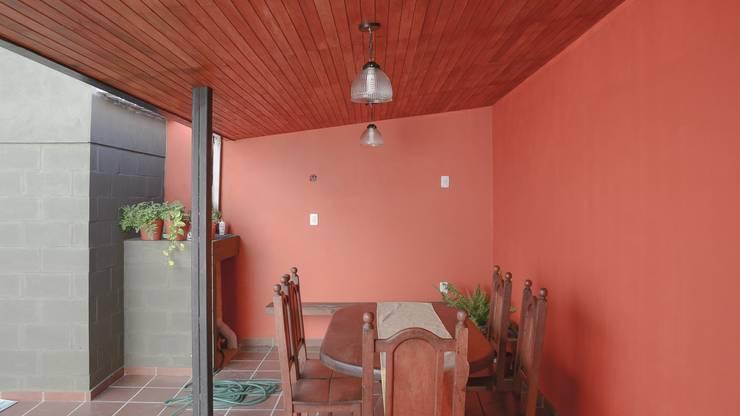 Casas unifamiliares Comedores modernos de ggap.arquitectura Moderno