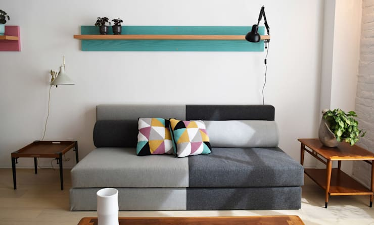 Living room by Germán Velasco Arquitectos , Modern