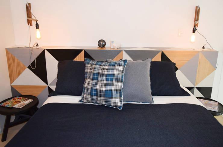 Slaapkamer door Germán Velasco Arquitectos