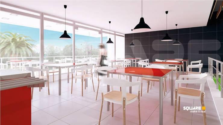 Diseño de Interiores para BESTMARKET:  de estilo  por SQUARE