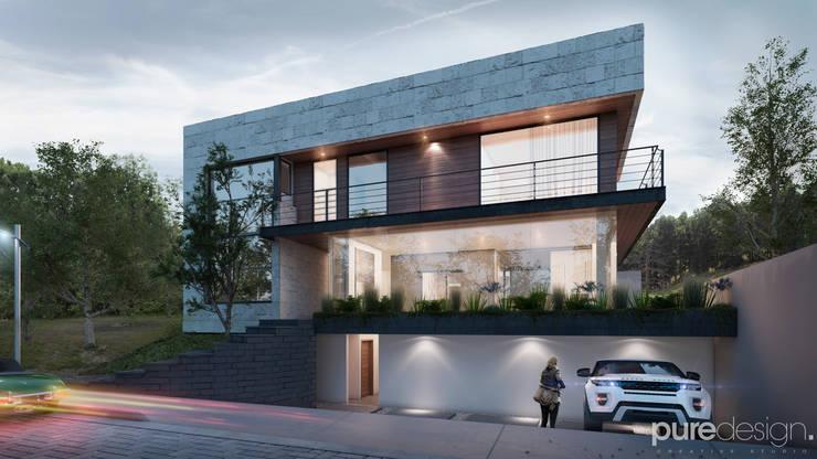 Cañada 28: Casas de estilo  por Pure Design