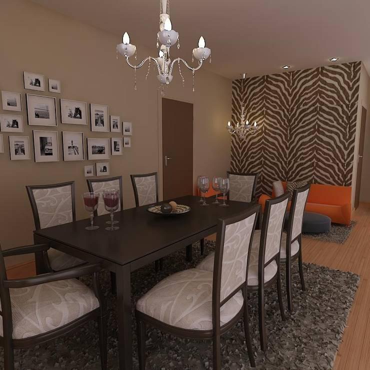Casa Contadora: pruebas:  de estilo  por Gema Fobelli, arq.