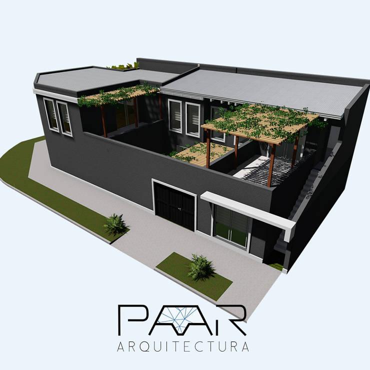 Proyecto de ampliación y remodelación.:  de estilo  por P A A R Estudio