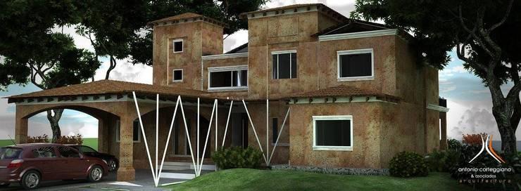 Casa en Country:  de estilo  por Estudio 'Antonio Corteggiano y Asoc. Arquitectura'