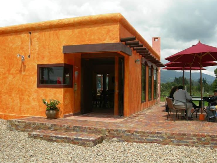 Gastronomie coloniale par LAB.au - Laboratorio de Arquitectura y Diseño Colonial