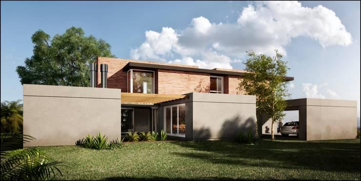 Bit.casas | GCI:  de estilo  por Bit.arquitectos,