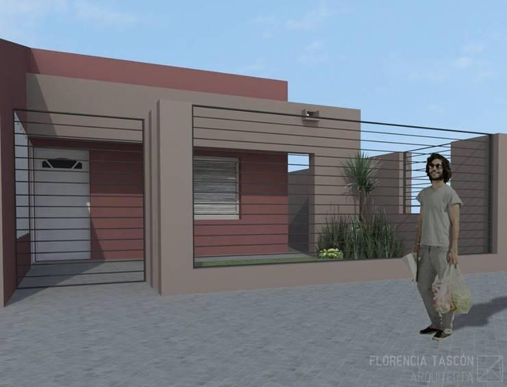 REMODELACIÓN FACHADA:  de estilo  por Florencia Tascón - Arquitecta