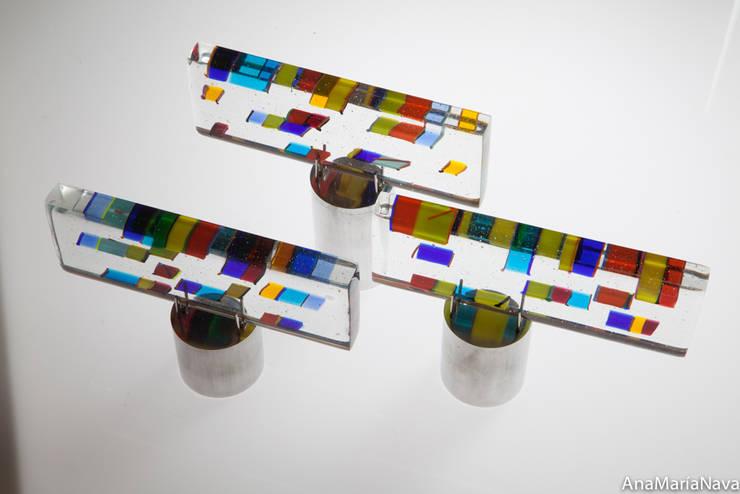 Desplazamientos cromáticos: Arte de estilo  por Ana Maria Nava Glass