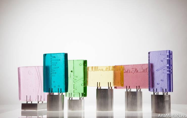 texturales: Arte de estilo  por Ana Maria Nava Glass