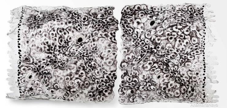 Arabesco, alfombra voladora: Arte de estilo  por Ana Maria Nava Glass
