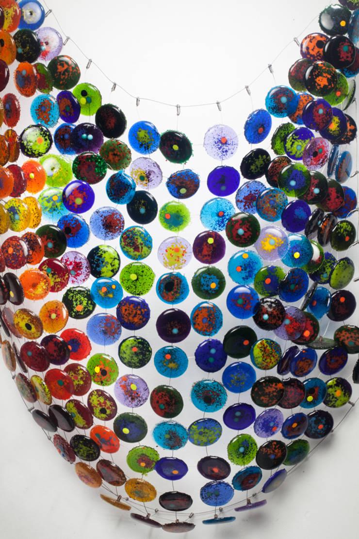 textiles con volúmen: Arte de estilo  por Ana Maria Nava Glass