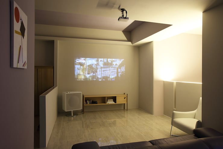 Living room by O-Scape Architecten