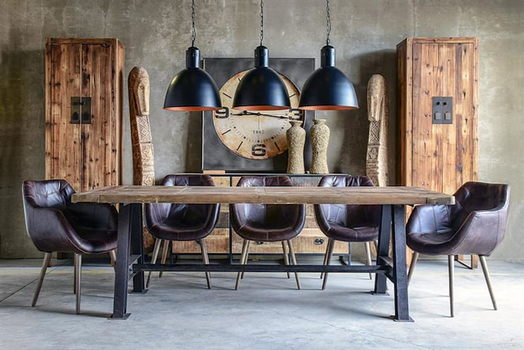 Eclectic style dining room by DECORSIA HOME,S.L. Eclectic