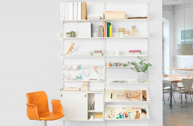 ห้องอ่านหนังสือและห้องทำงาน by Elfa Deutschland GmbH