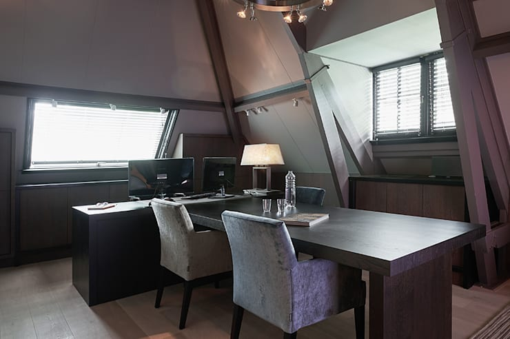 classic Study/office by Designa Interieur & Architectuur BNA