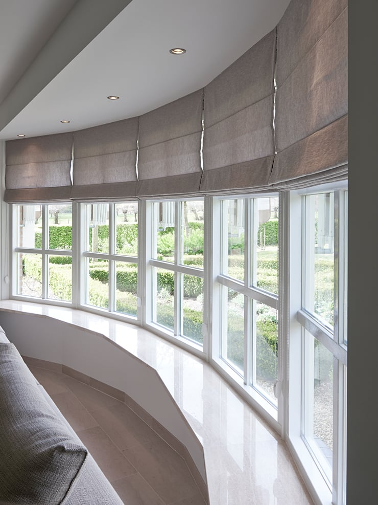 Villa Hilversum:  Ramen door Designa Interieur & Architectuur BNA, Rustiek & Brocante