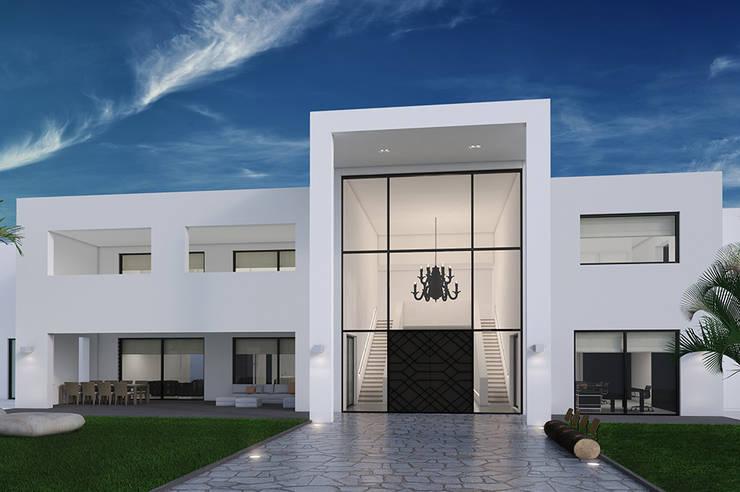 Villa Paramaribo:  Huizen door Designa Interieur & Architectuur BNA