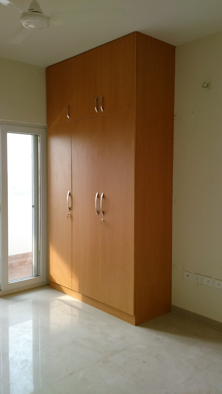 Classic Maple Mix: country Bedroom by Classic Kitchen Pvt Ltd