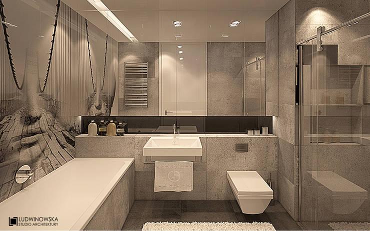 LIMBA NOIR II: styl , w kategorii  zaprojektowany przez Ludwinowska Studio Architektury