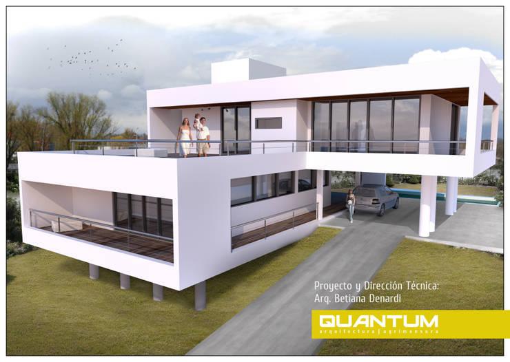 IMAGEN 3D. VIVIENDA RM.: Casas de estilo  por Betiana Denardi   Arquitecta