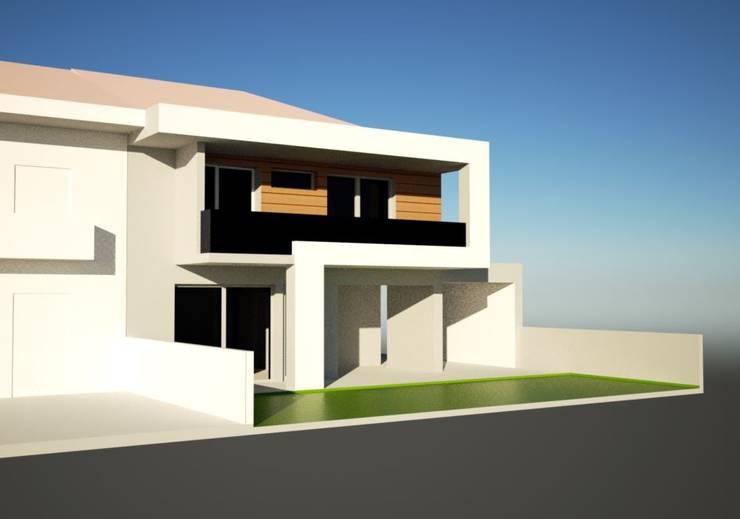 Moradia Geminada:   por askarquitetura
