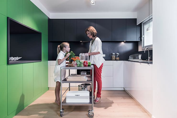 modern Kitchen by decodheure