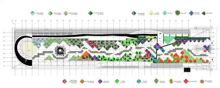 Taman oleh Lugo - Architettura del Paesaggio e Progettazione Giardini, Modern