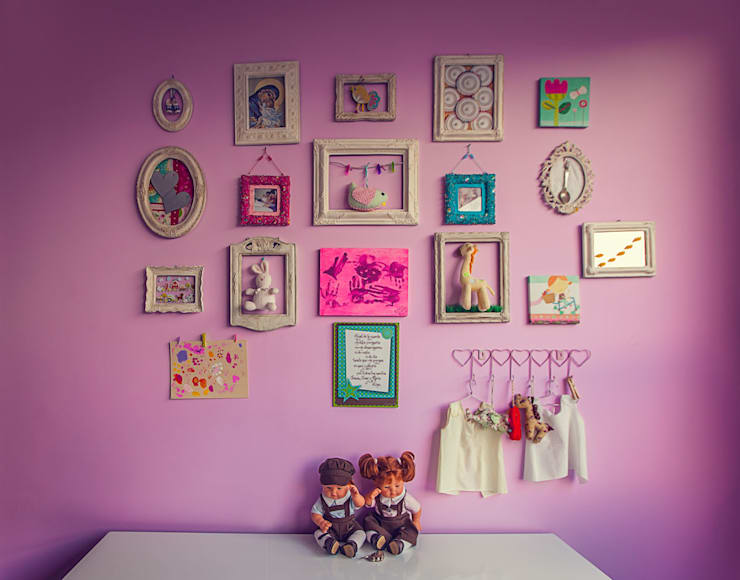 modern Nursery/kid's room by Cristina Cortés Diseño y Decoración