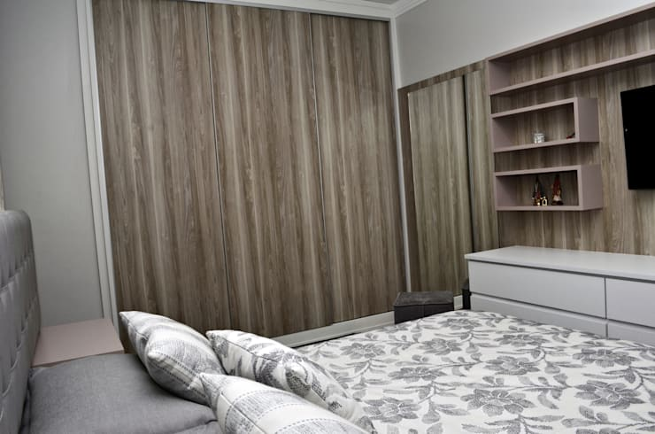 modern Bedroom by canatelli arquitetura e design
