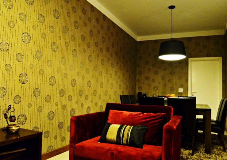Salas de estar modernas por canatelli arquitetura e design