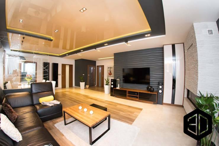 Living room by 3D STUDIO, Modern