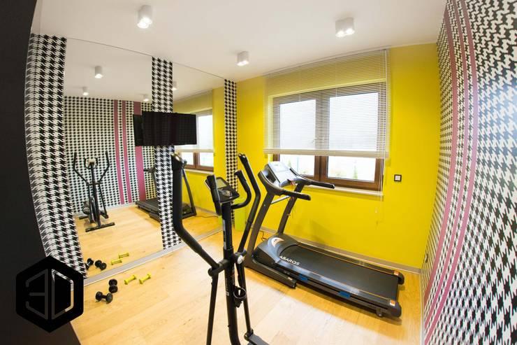 Gym by 3D STUDIO, Modern
