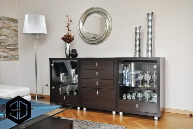 Living room by 3D STUDIO, Eclectic